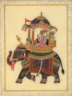 Mughal Ambabari Painting