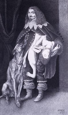 The Italian Colloredo brothers were favorites at the court of Charles I of England. Lazarus was a handsome & popular man, but his attached brother was little more than an unconscious dangling entity. Lazarus would walk the streets with his voluminous cloak draped over his brother so as not to cause unwanted attention. At other times, Lazarus would invite spectators to pinch his brother to hear him cry out with involuntary nonverbal protestations. This cruel behavior was a popular pastime.