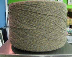 3/15 Acrylic Cone Yarn Sand, Camel, Gray Marl