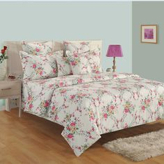 Shop this Roseland Zinnia Bed in a Bag Set at best prices in India- woodenstreet.#bedsheetset #bedfittedsheets #beddingsetsonline #cottonbeddingsets #acbeddingsets #summerbeddingsets Bed Sheet Sets, Bed Sheets, Wooden Street, Cotton Bedding Sets, Bedding Sets Online, Bed In A Bag, Amazing Spaces, Bedding Shop