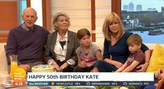 Kate Garraway's family turned up to GMB to surprise her on her 50th birthday