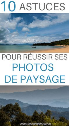 Photo de paysage - 10 astuces pour les réussir à tous les coups ! Do you like photography? Want to learn the photo? I explain to you 10 tips and tips for successful landscape photos. Beautiful Landscape Pictures, Landscape Photos, Beautiful Landscapes, Beautiful Pictures, Diy Photo, Photo Tips, Photo And Video, Photography Camera, Photography Tips