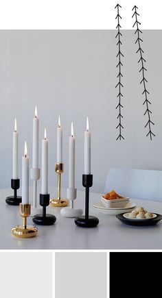 The Nappula candleholder has been designed for Iittala by Matti Klenell. The candleholder was born during a visit of the designer to the Nuutajärvi glass museum, where he admired an unusually shaped table and was inspired by it. Classic and modern are com Modern Candle Holders, Candle Holder Set, Candelabra Centerpiece, Gold Home Accessories, Modern Candles, Nordic Living, Glass Museum, Scandi Style, Porta Velas