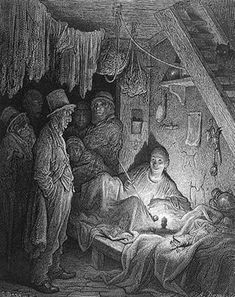 Gustave Dore: An opium dens in Victorian England (from the series of London Life illustrations). Limehouse was notorious for opium dens, as Oscar Wilde knew; read The Picture of Dorian Gray. Victorian London, Victorian History, Victorian Life, Gustave Dore, Estilo Tim Burton, Opium Den, Steampunk Festival, London Pictures, Old London