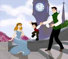 Where 12 Disney Families Are Now.  Because we never got to see them together in movies, DeviantArt user Grodansnagel shows our favorite Disney couples and their kids.