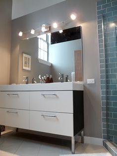 bathroom ideas on pinterest back painted glass ikea and ikea