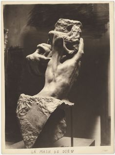 Pierre Choumoff for Auguste Rodin, The Hand of God Silver gelatin print, 9 x 6 in / x cm. Photo: Courtesy of Waddington Custot Galleries. Auguste Rodin, Museum Photography, Gelatin Silver Print, High Art, First Art, Art Pages, Character Art, Photo Art, Art Decor