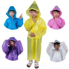 Mudplay Rainsuit Kid Waterproof All-in-one Suit Conjoined Raincoat Girls Boys