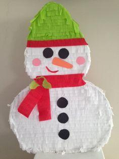 Custom Snowman Pinata - Order your's today (pinataplus@gmail.com or www.facebook.com/PinataPlus1)