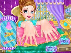 Jeux princesse à ongles– Capture d'écran