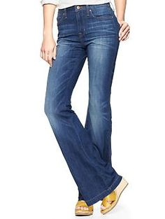 1969 flare mid-rise jeans | Gap $69.95