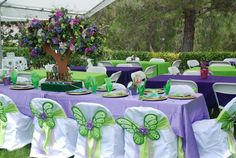 Tinkerbell party :) :) LOVE IT!!!!!!!!!!!!!!!! The colors are soooo cute!