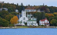 Ste. Anne Catholic Church - Mackinac Island, Michigan