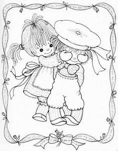 91 Best Raggedy Ann & Andy Embroidery Patterns images
