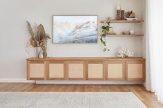 10 Family Room Storage Ideas That Will Get You Streamlined in a Snap — Hunker Entertainment Wall Units, Living Room Entertainment Center, Party Entertainment, Starship Entertainment, White Storage Cabinets, White Tv Cabinet, Muebles Living, Living Room Storage, Living Room Modern