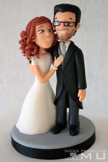 doces projectos MU: Topper Cake_Casamento Filipa e Hugo_Junho 2016