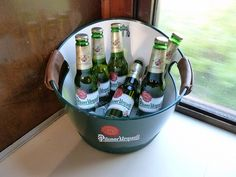 Beer bucket  - The Pilsner Urquell Express to the British Open 2011 by Train Chartering & Private Rail Cars, via Flickr