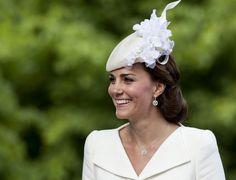 Kate Middleton Photos - Royals Celebrate the Christening of Princess Charlotte - Zimbio