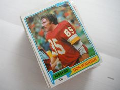 Don Warren 1981 Topps Football Card 84 Near Mint - Washington Redskins *** Click on the image for additional details.