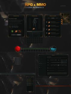 RPG and MMO UI - http://evilsystem.eu/assetstore/asset/RPG__MMO_UI/