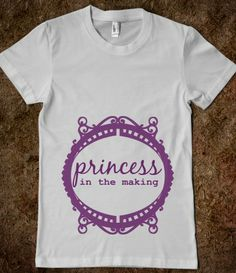 Princess in the Making Pregnant Shirt, pregnancy reveal