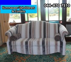 Contact Kommaweer for reliable and professional services. If you have a piece of furniture that you are sentimental about, we will be more than happy to re-upholster it so that it is as good as new. #Kommaweer #Upholstery
