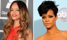 We ❤ Rihanna's Radical Trendy Style Change #Hair #Colour #HairColouring #HairCut #Style #Cabello #Peluquería #Coloración #Estilo #Tendencia #Trend #Trendy