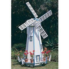 Buy Woodworking Project Paper Plan to Build Large Windmill, Plan No. 739 at Woodcraft.com