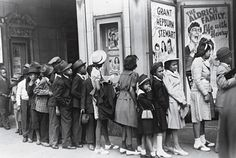 african americans in 1920 chicago | Children at an Easter Sunday matinée in Chicago, 1941. Blacks who ...