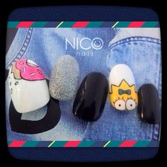 ネイル デザイン 画像 665890 Nails Inc, Gel Nails, Love Nails, Pretty Nails, Hello Kitty Nails, Baby Nails, Kawaii Nails, Manicure Y Pedicure, Pink Nail Designs