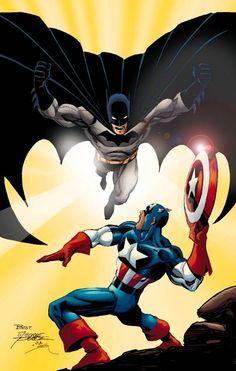 DC vs Marvel: Batman vs Captain America