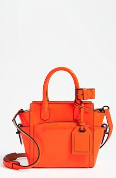 Reed Krakoff 'Atlantique - Micro' Patent Leather Satchel available at #Nordstrom