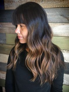 Warm Balayage   Social Media: @colorbydanamarie