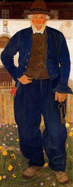 Ernest Bieler Swiss Painter (1863-1948)