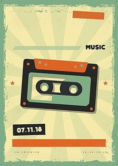 Radio Band, Retro, Magnetic Tape, Artificial Intelligence, Mixtape, Puzzle, Wallpapers, Memories, Illustrations