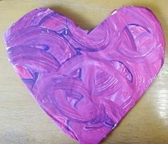 Foil Valentine Heart Craft   Scholastic.com