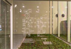 氏デザイン Wayfinding Signage, Signage Design, Environmental Graphics, Environmental Design, Office Door Signs, Sign System, Directional Signs, Display Design, Exterior Doors