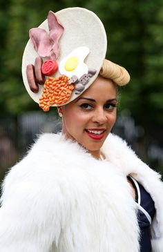 Breakfast...Hat? @QueerFMRadioNet Best & WORST of Royal Ascot Hats for the Jubilee! Which is YOUR Fave?