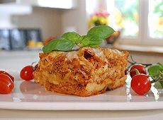 Przepis z kuchni włoskiej na lasagne bolognese - kuchnia+
