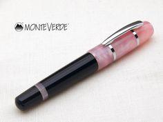 モンテベルデソナタ極太ミニ万年筆デルタ/ライトピンク monteverde, pink, fountain pen