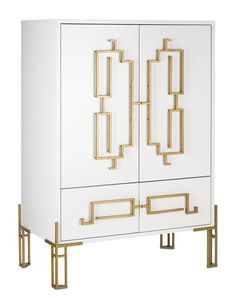 #luxelikes: Zhin Cabinet by Currey & Company   http://www.luxesource.com…