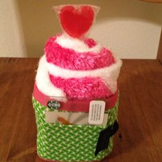 Spa socks tucked in a coffee cup wrap with gift card included. Great teacher/get well gift idea.maybe add hot chocolate for a child Fun Ideas, Creative Ideas, Gift Ideas, Best Teacher Gifts, Best Gifts, Gift Crafts, Get Well Gifts, Welcome Gifts, Coffee Gifts
