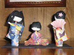 Washi dolls 15cm | Flickr - Photo Sharing!
