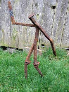 -Schell and Son Metalwerks-: Garden art