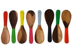 Jacaranda Large Colorblocked Spoons