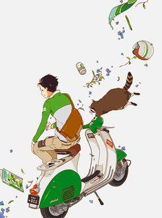 (The cure, downtown, a la folie beau) related Manga Art, Anime Manga, Anime Guys, Anime Art, Character Inspiration, Character Art, Character Design, Character Illustration, Illustration Art