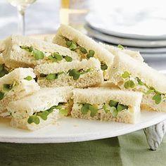 Kentucky Benedictine Tea Sandwiches