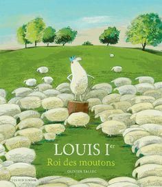 """""""Louis 1 roi des moutons"""" 5 ans, Alors que Louis paissait tranquillement dans son pré, une couronne portée par le vent atterrit à ses pieds. Le mouton posa la couronne sur sa tête, se dressa sur ses pattes arrière et prit une branche comme sceptre. Et c'est ainsi que Louis devint Louis Ier, roi des moutons, et qu'il se lai..."""