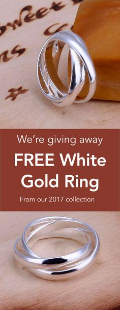 FREE 925-Sterling-Silver Layers Ring