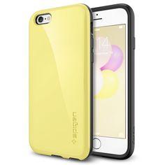 Spigen Coque iPhone 6 [Anti-Chocs] Coque iPhone 6 [Capsule Capella] [Lemon Yellow] Protection anti-chocs en TPU pour iPhone 6 (2014) - Lemon Yellow (SGP11051)